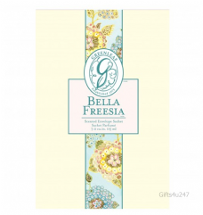 Greenleaf & Bridgwater BELLA FREESIA  Large Scented Envelope Sachet